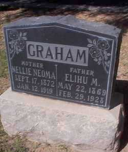 GRAHAM, NELLIE NEOMA - Maricopa County, Arizona | NELLIE NEOMA GRAHAM - Arizona Gravestone Photos