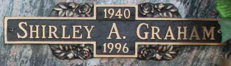 GRAHAM, SHIRLEY A - Maricopa County, Arizona   SHIRLEY A GRAHAM - Arizona Gravestone Photos
