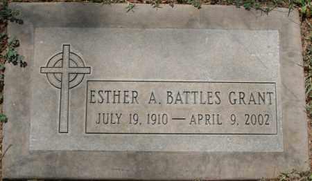 BATTLES GRANT, ESTHER A. - Maricopa County, Arizona | ESTHER A. BATTLES GRANT - Arizona Gravestone Photos