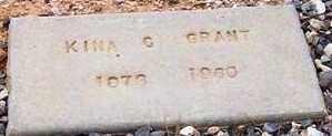 GRANT, KINA C. - Maricopa County, Arizona | KINA C. GRANT - Arizona Gravestone Photos