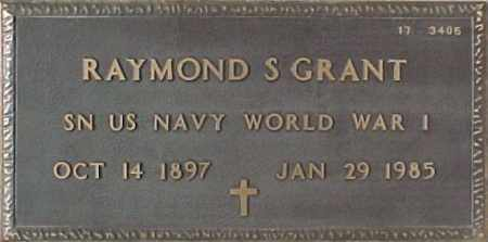 GRANT, RAYMOND S. - Maricopa County, Arizona | RAYMOND S. GRANT - Arizona Gravestone Photos