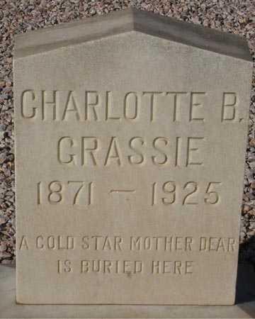 GRASSIE, CHARLOTTE B. - Maricopa County, Arizona   CHARLOTTE B. GRASSIE - Arizona Gravestone Photos