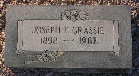 GRASSIE, JOSEPH F. - Maricopa County, Arizona | JOSEPH F. GRASSIE - Arizona Gravestone Photos