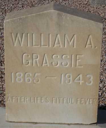GRASSIE, WILLIAM A. - Maricopa County, Arizona | WILLIAM A. GRASSIE - Arizona Gravestone Photos