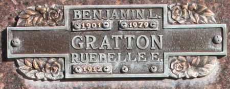 GRATTON, RUEBELLE E - Maricopa County, Arizona | RUEBELLE E GRATTON - Arizona Gravestone Photos