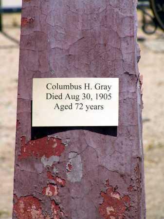 GRAY, COLUMBUS HARRISON - Maricopa County, Arizona | COLUMBUS HARRISON GRAY - Arizona Gravestone Photos