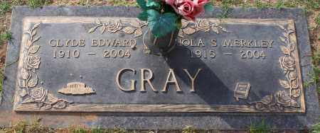 GRAY, IOLA S. MERKLEY - Maricopa County, Arizona | IOLA S. MERKLEY GRAY - Arizona Gravestone Photos