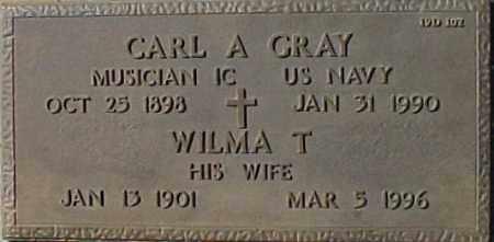 GRAY, CARL A - Maricopa County, Arizona | CARL A GRAY - Arizona Gravestone Photos