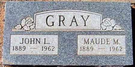 GRAY, MAUDE M. - Maricopa County, Arizona | MAUDE M. GRAY - Arizona Gravestone Photos