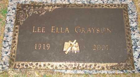 GRAYSON, LEE ELLA - Maricopa County, Arizona | LEE ELLA GRAYSON - Arizona Gravestone Photos