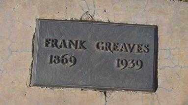 GREAVES, FRANK - Maricopa County, Arizona   FRANK GREAVES - Arizona Gravestone Photos
