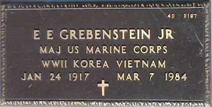 GREBENSTEIN, E. E., JR. - Maricopa County, Arizona | E. E., JR. GREBENSTEIN - Arizona Gravestone Photos