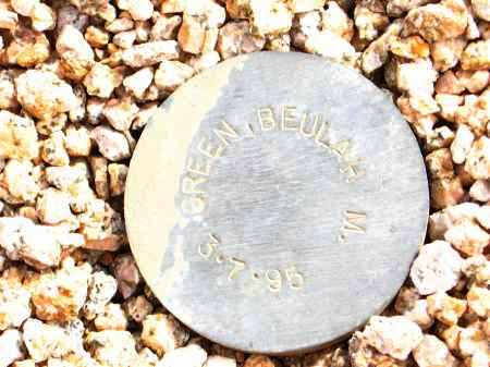 GREEN, BEULAH M. - Maricopa County, Arizona | BEULAH M. GREEN - Arizona Gravestone Photos