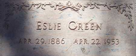 GREEN, ESLIE - Maricopa County, Arizona   ESLIE GREEN - Arizona Gravestone Photos