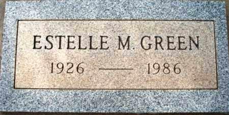 GREEN, ESTELLE M. - Maricopa County, Arizona   ESTELLE M. GREEN - Arizona Gravestone Photos