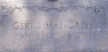 GREEN, GERTIE MAE - Maricopa County, Arizona | GERTIE MAE GREEN - Arizona Gravestone Photos