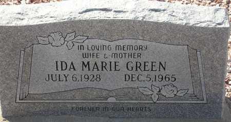 GREEN, IDA MARIE - Maricopa County, Arizona | IDA MARIE GREEN - Arizona Gravestone Photos