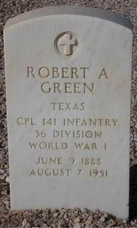 GREEN, ROBERT A. - Maricopa County, Arizona | ROBERT A. GREEN - Arizona Gravestone Photos