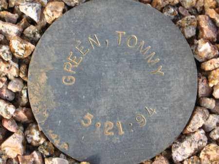 GREEN, TOMMY - Maricopa County, Arizona | TOMMY GREEN - Arizona Gravestone Photos