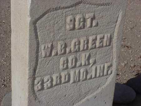 GREEN, WILLIAM B - Maricopa County, Arizona   WILLIAM B GREEN - Arizona Gravestone Photos