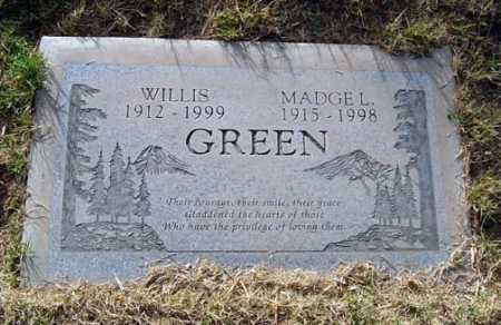 GREEN, WILLIS - Maricopa County, Arizona | WILLIS GREEN - Arizona Gravestone Photos