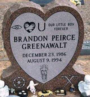 GREENAWALT, BRANDON PEIRCE - Maricopa County, Arizona | BRANDON PEIRCE GREENAWALT - Arizona Gravestone Photos