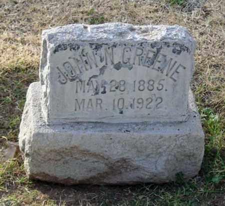 GREENE, JOHN N. - Maricopa County, Arizona | JOHN N. GREENE - Arizona Gravestone Photos