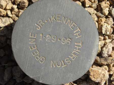 GREENE, KENNETH THURSTON, JR - Maricopa County, Arizona | KENNETH THURSTON, JR GREENE - Arizona Gravestone Photos