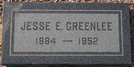 GREENLEE, JESSE E. - Maricopa County, Arizona | JESSE E. GREENLEE - Arizona Gravestone Photos