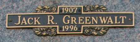 GREENWALT, JACK R - Maricopa County, Arizona | JACK R GREENWALT - Arizona Gravestone Photos