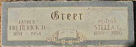 GREER, STELLA G. - Maricopa County, Arizona | STELLA G. GREER - Arizona Gravestone Photos
