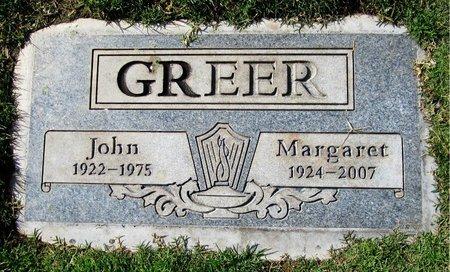 GREER, MARGARET - Maricopa County, Arizona | MARGARET GREER - Arizona Gravestone Photos