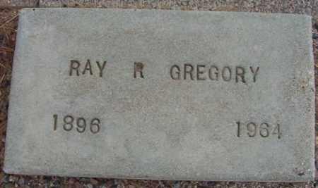 GREGORY, RAY R. - Maricopa County, Arizona | RAY R. GREGORY - Arizona Gravestone Photos