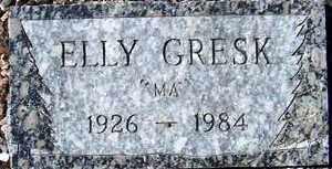 REICHER GRESK, ELLY M. - Maricopa County, Arizona | ELLY M. REICHER GRESK - Arizona Gravestone Photos