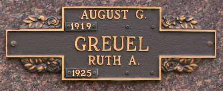 GREUEL, RUTH A - Maricopa County, Arizona | RUTH A GREUEL - Arizona Gravestone Photos