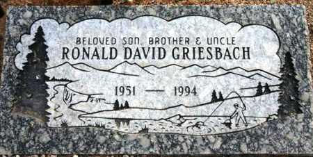 GRIESBACH, RONALD DAVID - Maricopa County, Arizona   RONALD DAVID GRIESBACH - Arizona Gravestone Photos
