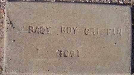 GRIFFIN, BABY BOY - Maricopa County, Arizona   BABY BOY GRIFFIN - Arizona Gravestone Photos
