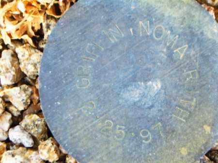 GRIFFIN, NOMA RUTH - Maricopa County, Arizona | NOMA RUTH GRIFFIN - Arizona Gravestone Photos