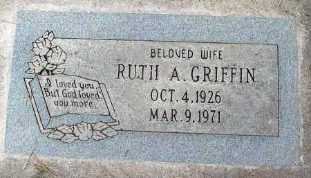 GRIFFIN, RUTH A. - Maricopa County, Arizona | RUTH A. GRIFFIN - Arizona Gravestone Photos