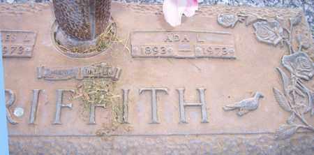 GRIFFITH, ADA L. - Maricopa County, Arizona | ADA L. GRIFFITH - Arizona Gravestone Photos