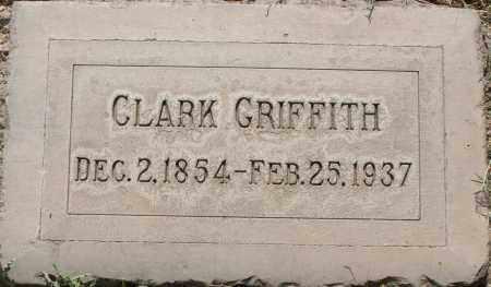 GRIFFITH, CLARK - Maricopa County, Arizona | CLARK GRIFFITH - Arizona Gravestone Photos