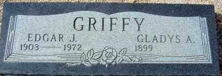 GRIFFY, EDGAR J. - Maricopa County, Arizona   EDGAR J. GRIFFY - Arizona Gravestone Photos