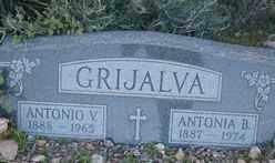 GRIJALVA, ANTONIA B. - Maricopa County, Arizona | ANTONIA B. GRIJALVA - Arizona Gravestone Photos