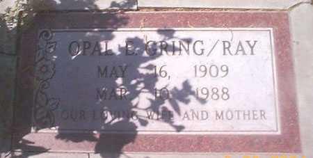 GRING / RAY, OPAL E. - Maricopa County, Arizona   OPAL E. GRING / RAY - Arizona Gravestone Photos
