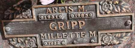 GRIPP, ARLIS M - Maricopa County, Arizona   ARLIS M GRIPP - Arizona Gravestone Photos