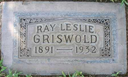 GRISWOLD, RAY LESLIE - Maricopa County, Arizona   RAY LESLIE GRISWOLD - Arizona Gravestone Photos