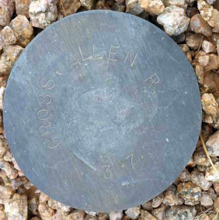 GROSS, ALLEN R. - Maricopa County, Arizona   ALLEN R. GROSS - Arizona Gravestone Photos