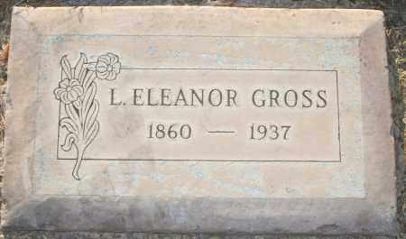 GROSS, L. ELEANOR - Maricopa County, Arizona | L. ELEANOR GROSS - Arizona Gravestone Photos