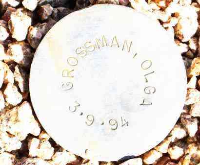 GROSSMAN, OLGA - Maricopa County, Arizona | OLGA GROSSMAN - Arizona Gravestone Photos