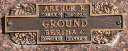 GROUND, BERTHA C - Maricopa County, Arizona | BERTHA C GROUND - Arizona Gravestone Photos